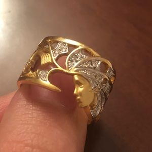 Jewelry - Dimond & Gold Ring